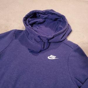 Nike Tops - Nike Cowl Neck Hoodie
